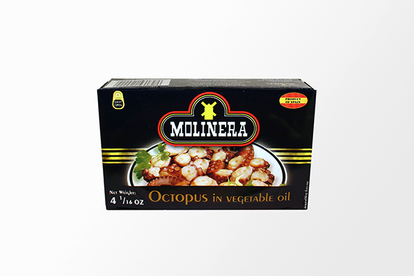 Octopus in Vegetable Oil - 4.06oz