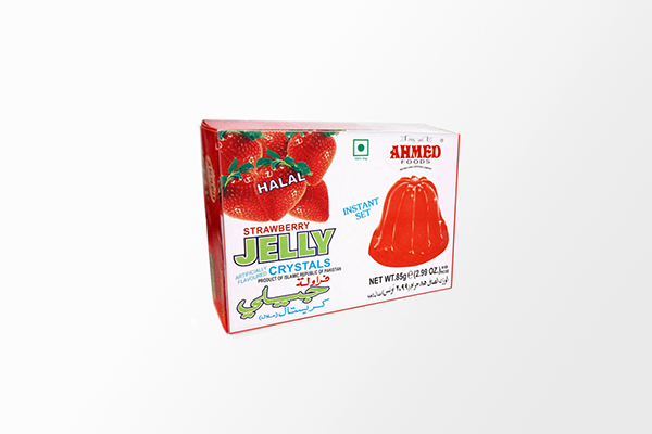 Srawberry Jelly Crystals - 85g