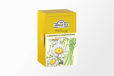 Ahmad Tea - Camomile & Lemongrass Tea - 20 Bags