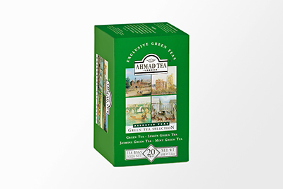 Ahmad Tea - Green Tea Selection - 20 Bags