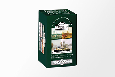 Ahmad Tea - Classic Tea Selection - 20 Bags