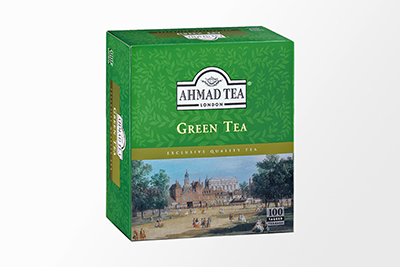 Ahmad Tea - Green Tea - 100 Bags