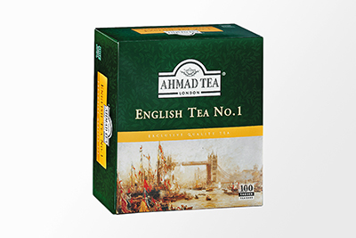 Ahmad Tea - English Tea #1 - 100 Bags