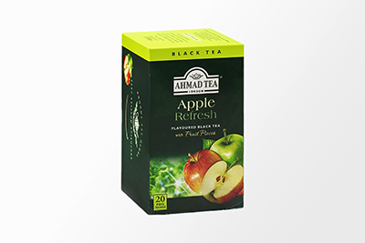Ahmad Tea - Apple Refresh Black Tea - 20 Bags