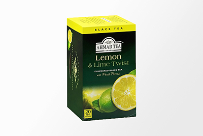 Lemon & Lime Twist Black Tea - 20 Bags
