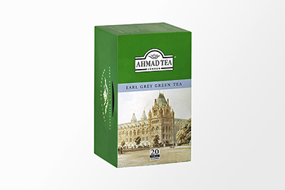 Ahmad Tea - Earl Grey Green Tea - 20 Bags