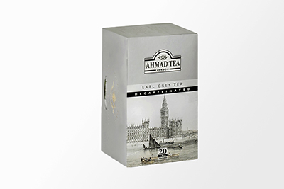 Ahmad Tea - Earl Grey Decaffeinated Tea - 20 Bags
