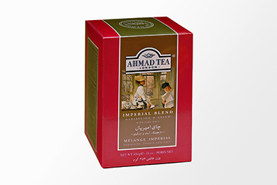 Ahmad Tea - Imperial Blend Darjeeling & Assam w/ Earl Grey Tea (Loose) - 454g