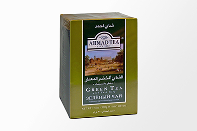 Ahmad Tea - Green Tea with Earl Grey (Loose) - 500g