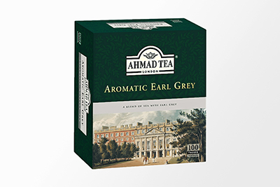Ahmad Tea - Aromatic Earl Grey - 100 Bags