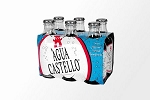 Agua Castello Mineral Natural Water 6-Pack - 0
