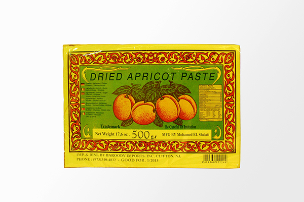 Dried Apricot Paste - 17.6oz